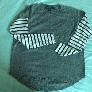 Like new French Connection grey sweater